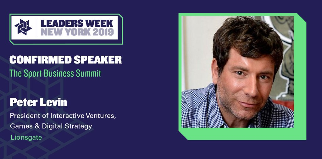 Missed our mid-week announcement?   Peter Levin, President at global content platform @Lionsgate, is the latest exec to join the speaker line-up for #LeadersWeek New York.   Check out the rest here:  http:// bit.ly/2RP4Sa8  &nbsp;  <br>http://pic.twitter.com/lbswFtldET