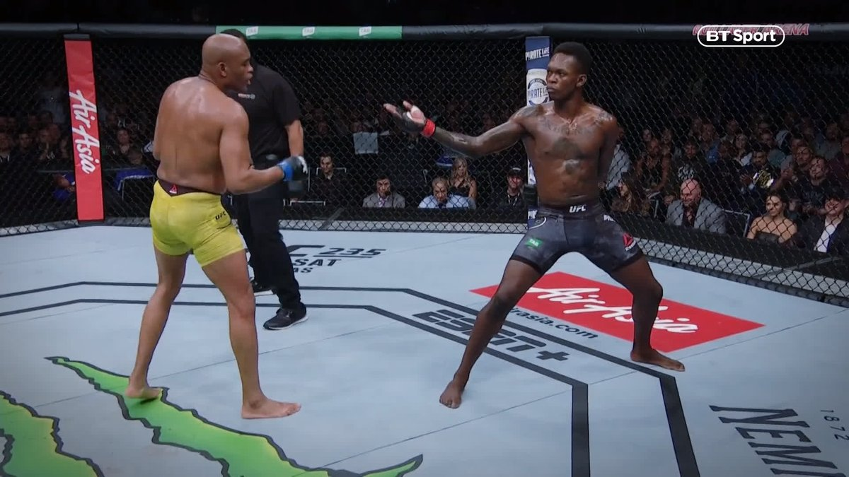 UFC on BT Sport's photo on Anderson Silva