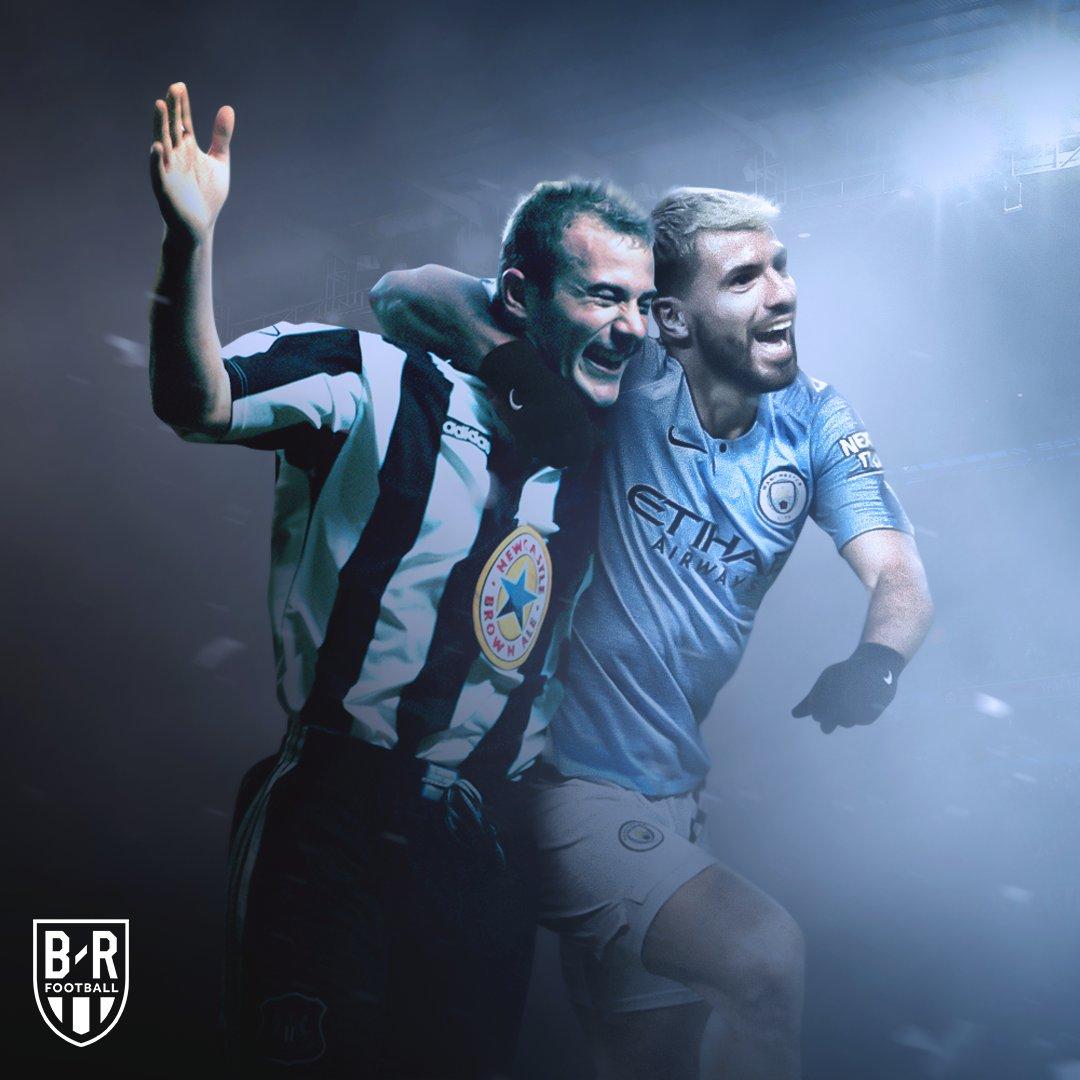 Most Premier League hat-tricks ever:  11—Alan Shearer 11—Sergio Aguero  History.