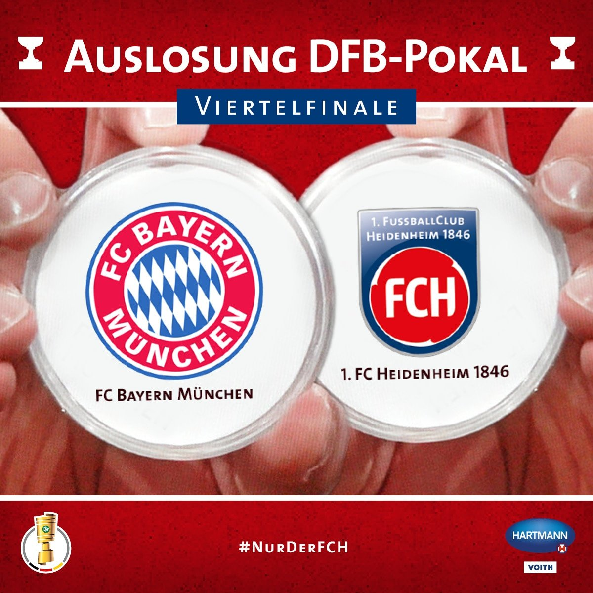 1. FC Heidenheim 1846's photo on #fcbfch
