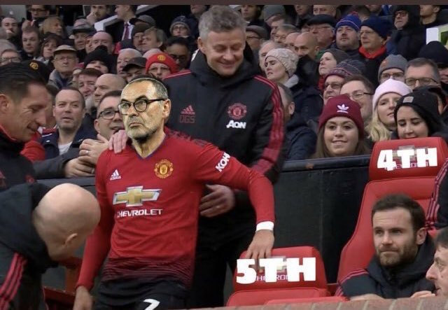 Jog on pal that's our spot now! #mufc