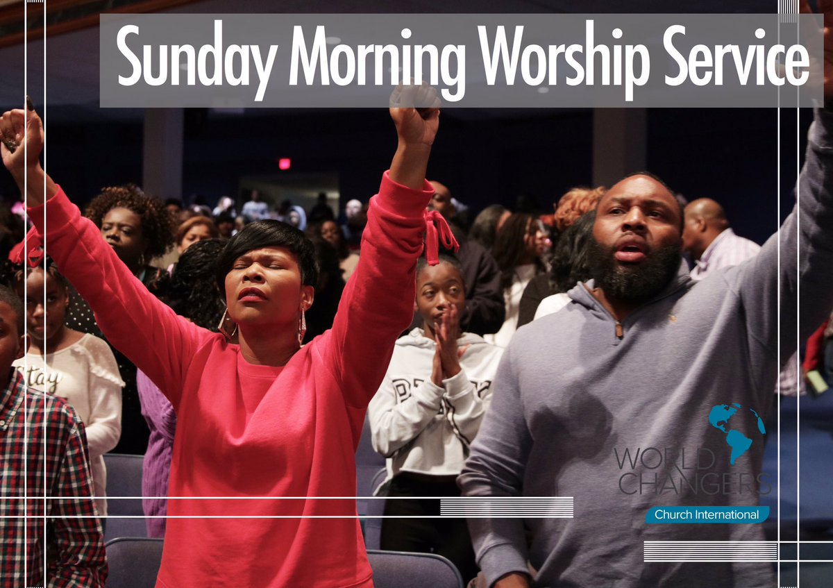 Meet us at the Dome as we celebrate our Savior for all that He has done and for all that He continues to do. Sunday service begins @ 10am. Streaming LIVE on Facebook. Download our mobile app; Live Streaming, Daily Devotionals & much more. #WorldChangersChurchInternational