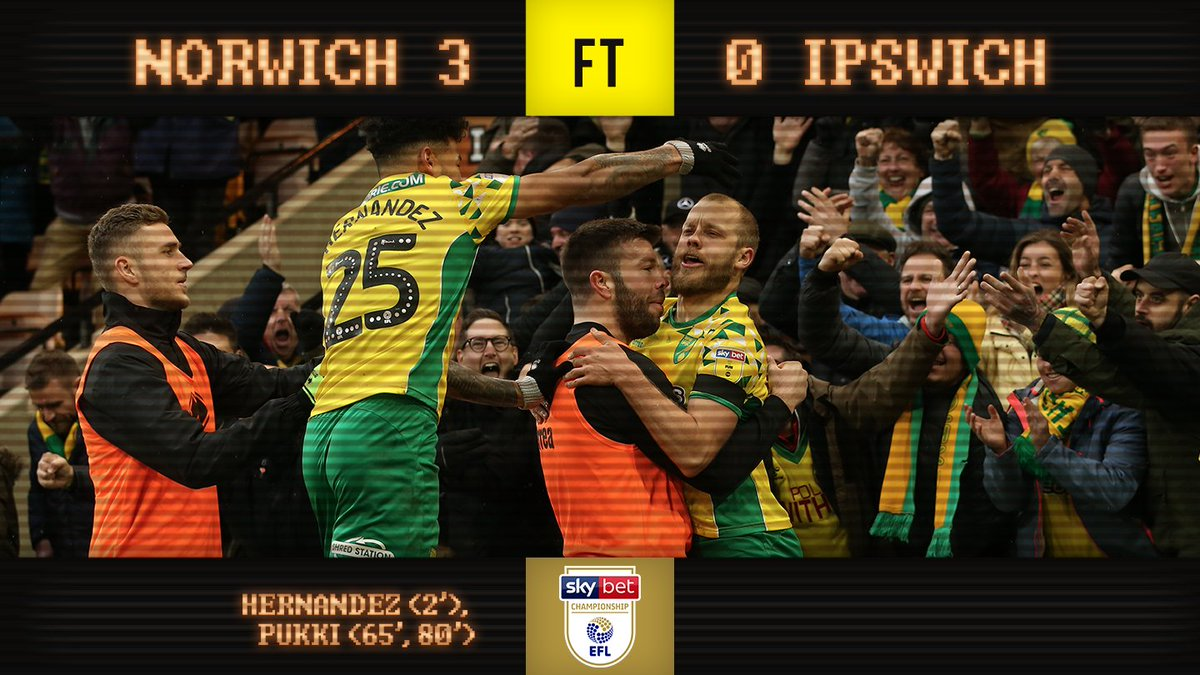 'Oh no, how awful. When are Ipswich Town ever going to beat them?' #ncfc