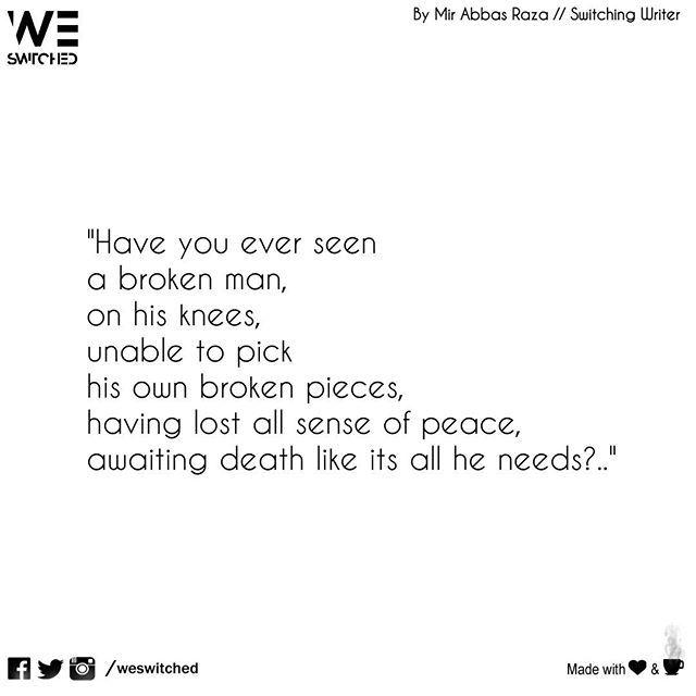 dating a broken man quotes