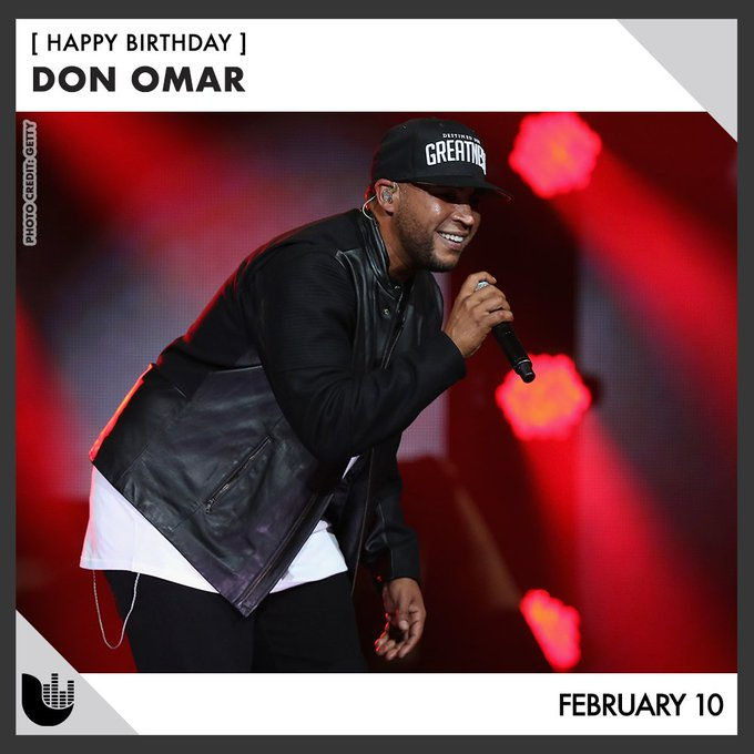 Join us in wishing a happy birthday to Don Omar!