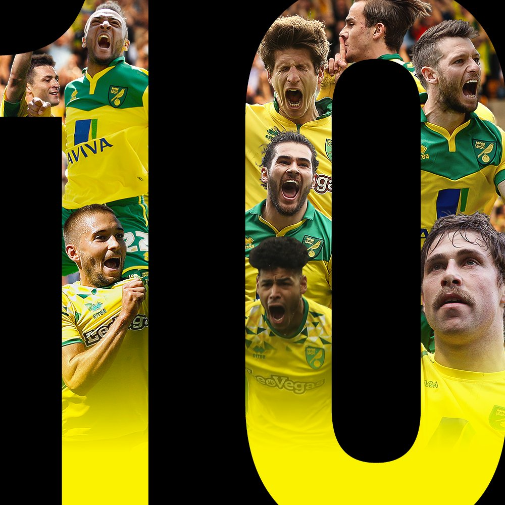 🔟 years unbeaten in the East Anglian derby! 🙌 #ncfc