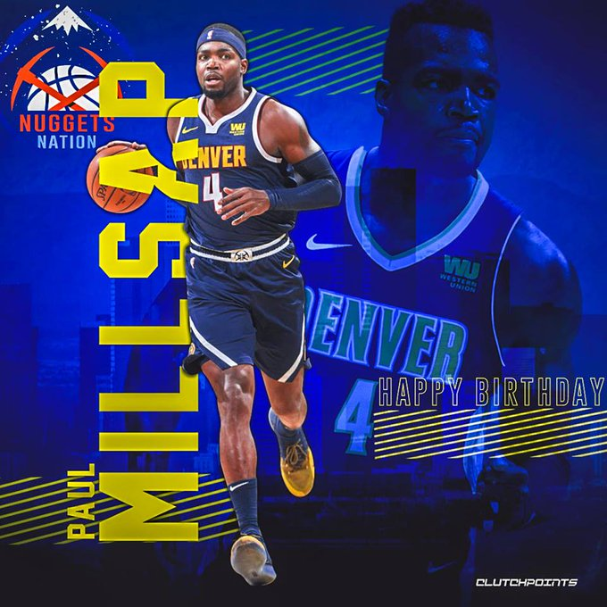 Join Nuggets Nation in wishing Paul Millsap a happy 34th birthday!