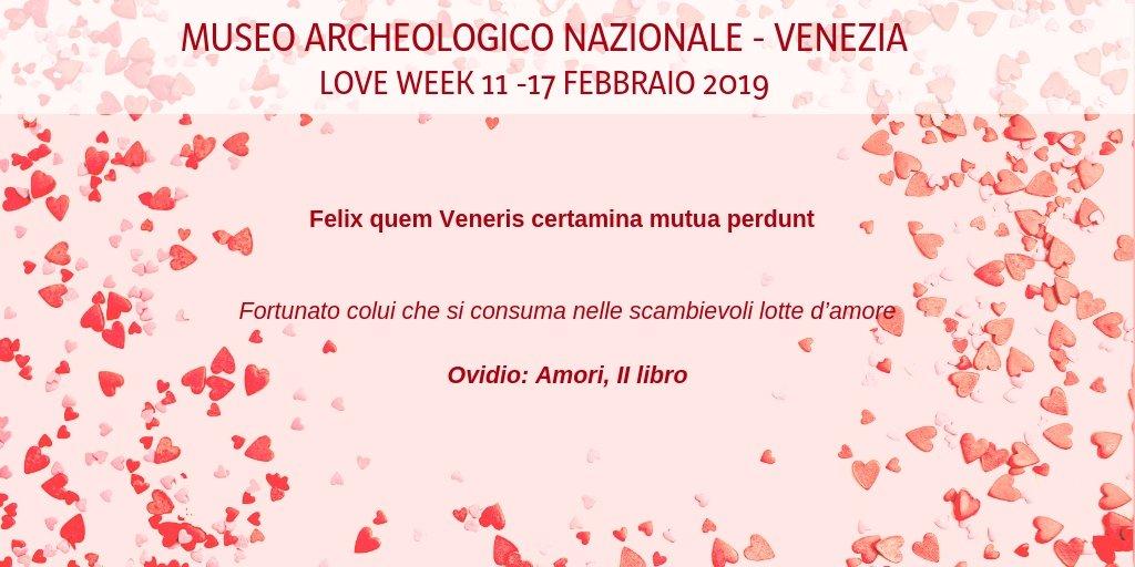 #loveweek al @MuseoArcheoVene: #day7 :) https://t....