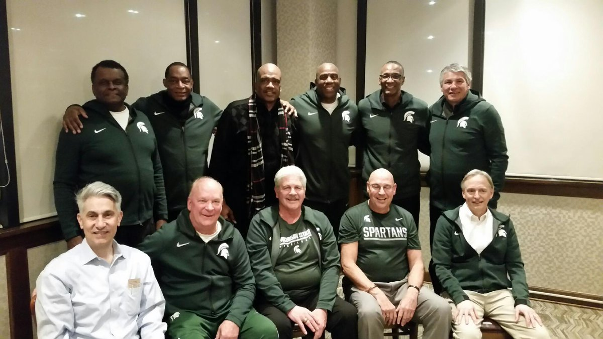 It was great to see Coach Izzo and my teammates from the 1979 team!