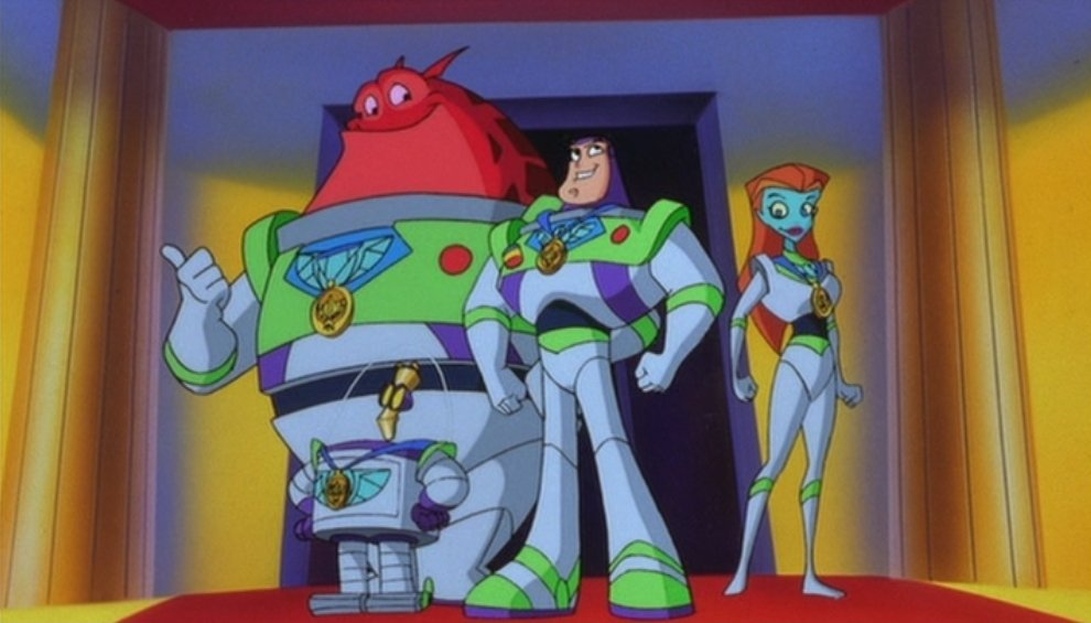 Some of you never watched Buzz Lightyear of Star Command, and it shows.