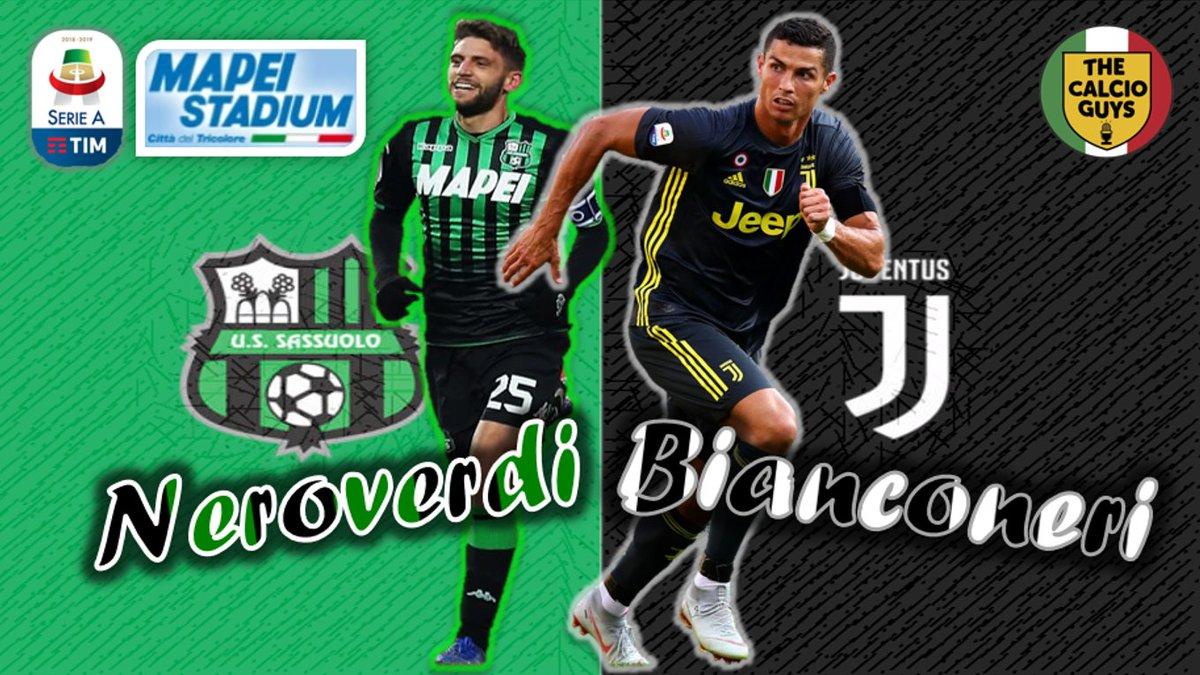 Juventus Vs Sassuolo: 00.01 SASSUOLO VS. JUVENTUS [PPTV]