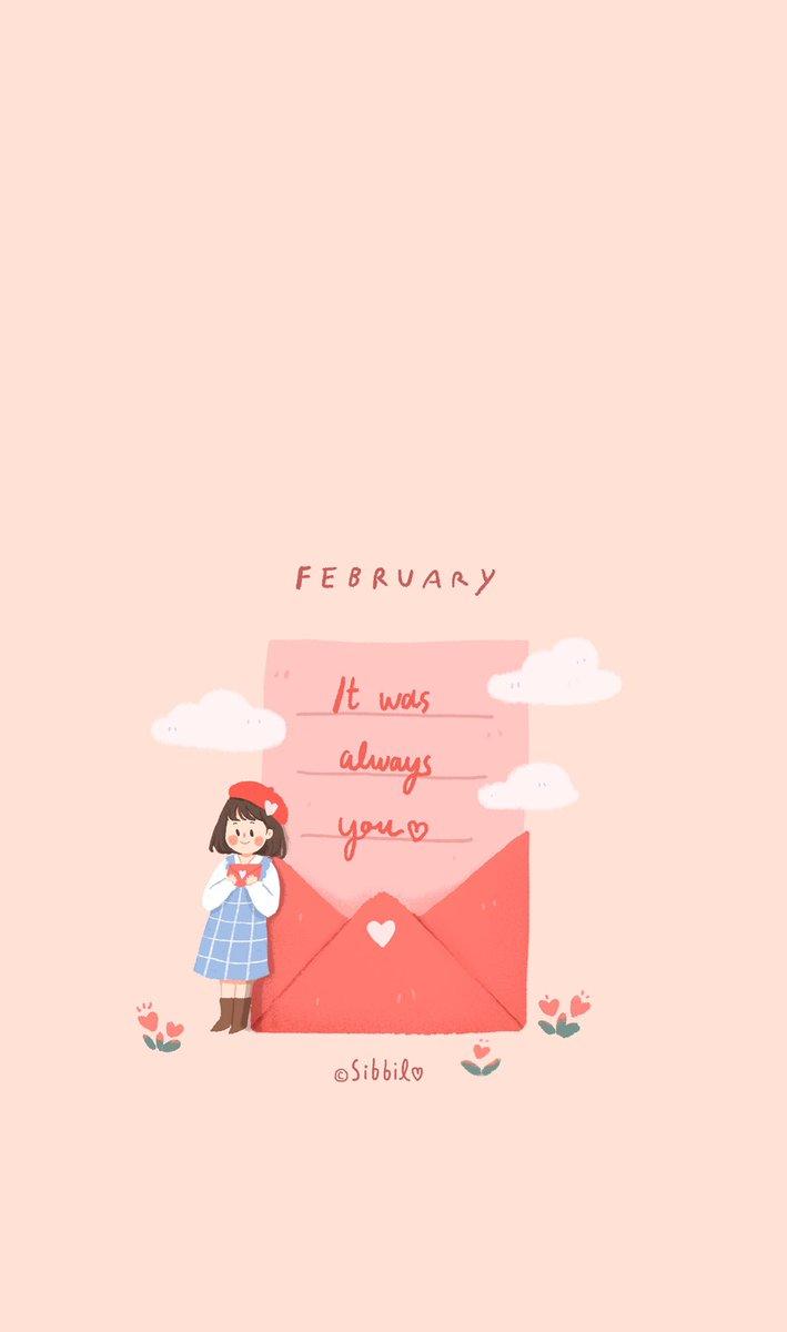 มาแล้วแจกวอลเดือนนี้ค่ะ ~ มาช้าแต่มาชัวร์ มาในธีมความรักมากๆ ❤️ หวังว่าจะชอบกันนะคะ :)