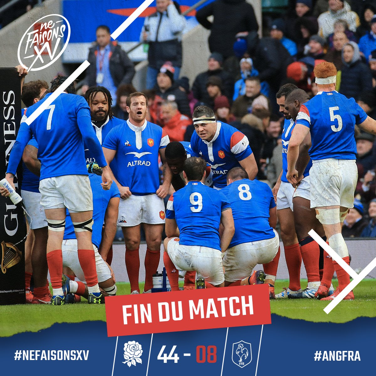 FF Rugby's photo on #xvdefrance