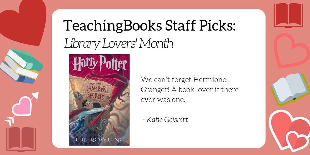test Twitter Media - February is Library Lover's Month. What's your go-to book about libraries or book lovers? Here's a resource for a favorite of ours - https://t.co/4EhAFOhSSX    @jk_rowling @Scholastic https://t.co/Ie0jySulZ1