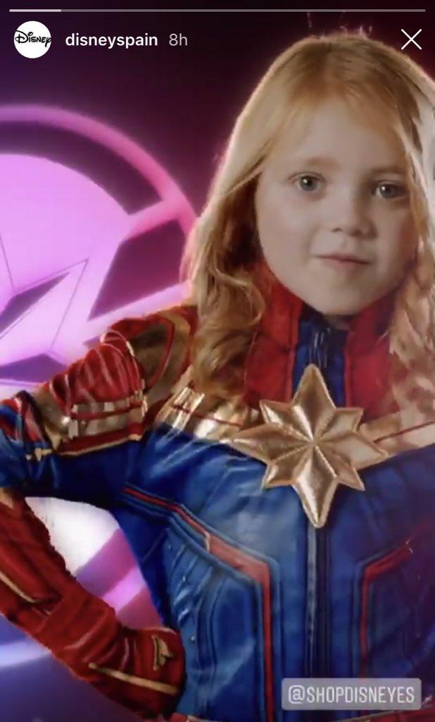 Captain Marvel News On Twitter Yas Captainmarvel Costume Advert From Disney Spain Captain marvel (brie larson) is the superhero identity of carol danvers, a former u.s. twitter