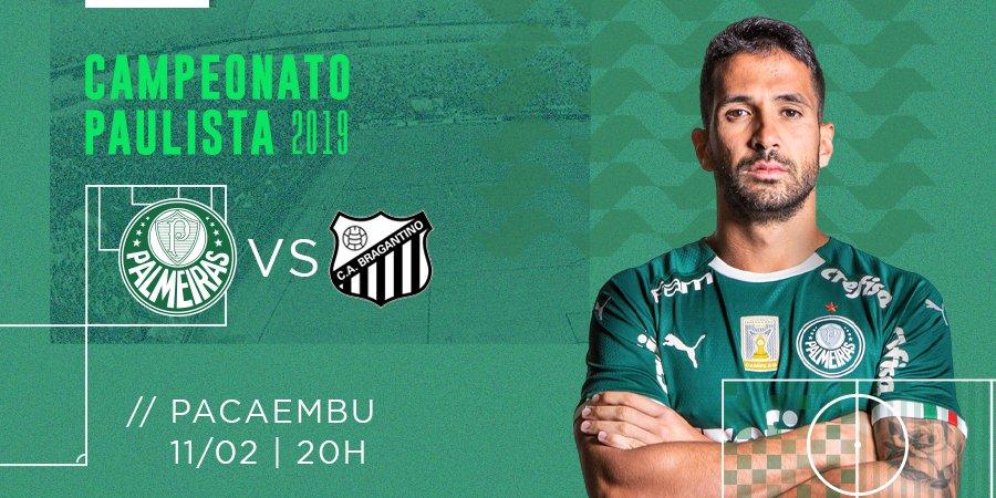 SE Palmeiras's photo on Palmeiras x Bragantino
