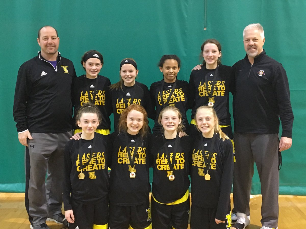 Great effort this weekend by our 7th Grade Laser Gold winning their 8th Grade Championship in the Connecticut Sun Division at the Queens and Kings Basketball Tournament in Bellevue.  Proud of you.  ⁦@NELasersHoops⁩ ⁦@goducks10⁩ ⁦@coachwallj⁩