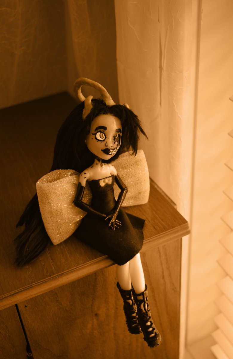 I have a lot more I'd like to share with you, so if you'd like to see the full photoshoot for these dolls, and some extra thank you's, here's a link. https://inkabelledesigns.tumblr.com/post/182713004257/happy-2nd-birthday-bendy… Thank you guys so much! Keep being awesome! @themeatly @KindlyMood @LaurenSynger
