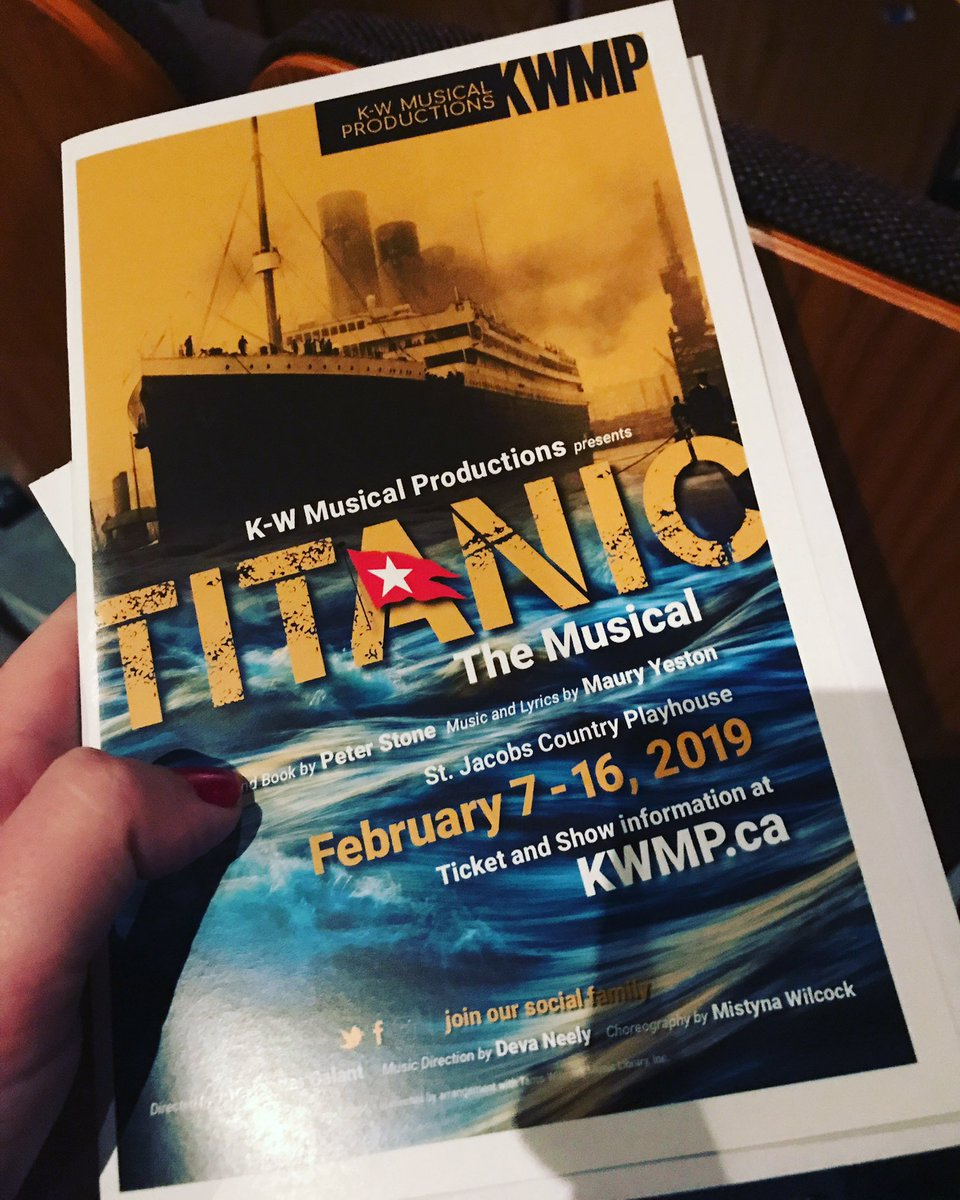 .@bitwhizzle and i at the show with the most beautiful score ever #stjacobscountryplayhouse #titanic #broadway #roadtrip<br>http://pic.twitter.com/PMQYnpr8gE