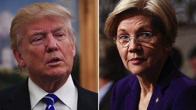 Warren goes after Trump: By 2020, he 'he may not even be a free person,' let alone president https://t.co/BFn57lDDTT https://t.co/82x1j4Azdm