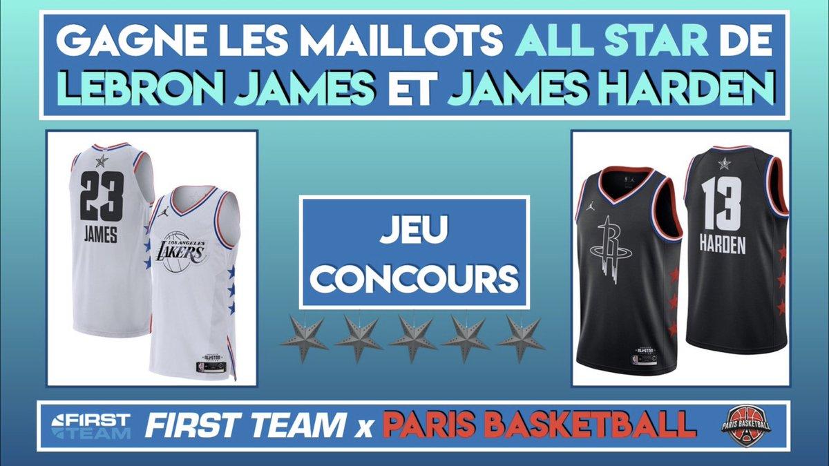 Grand jeu All Star Game avec Parisbasketball et la First Team . Follow nous et tague 3 copains en commentaires . Tirage au sort lundi 18/02 durant le First Talk Good luck
