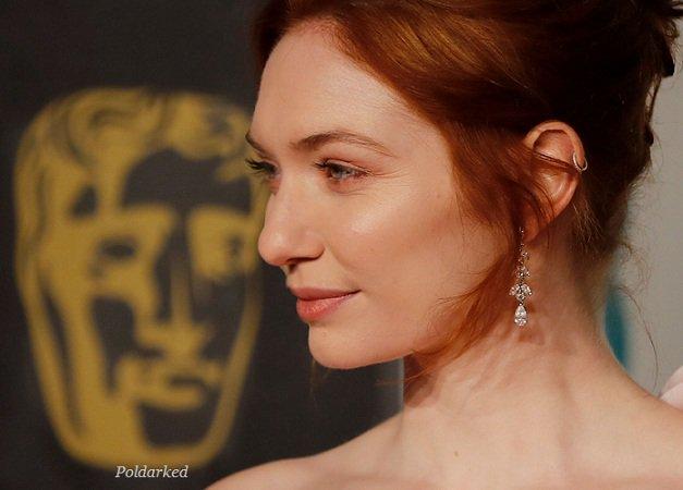 Fabulous  #EleanorTomlinson at tonight's film #BAFTA  #poldark Photos via @FFASiteTweets