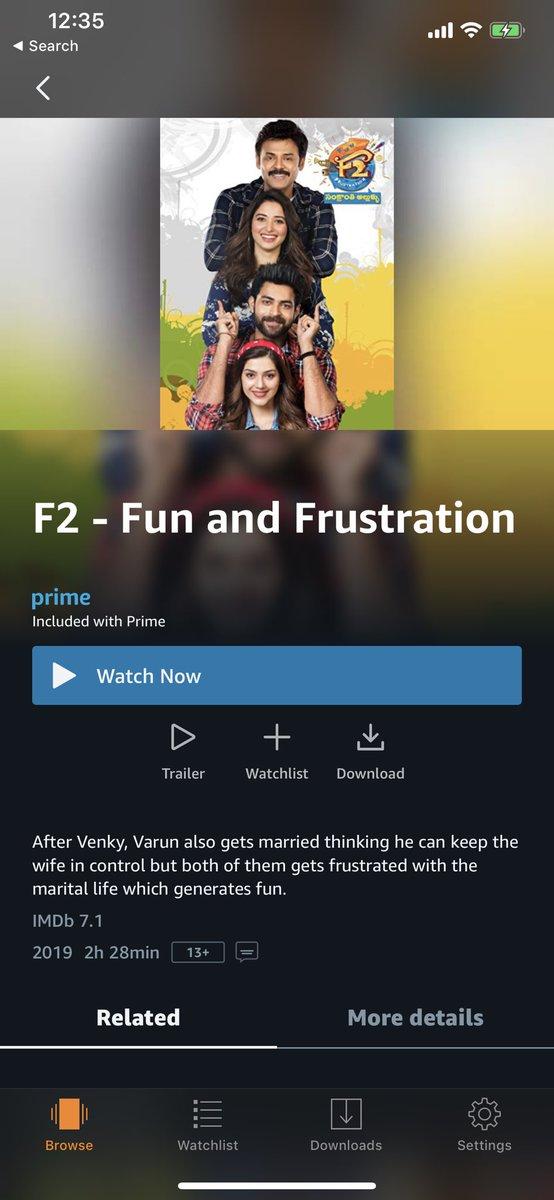 geetha govindam movie on amazon prime