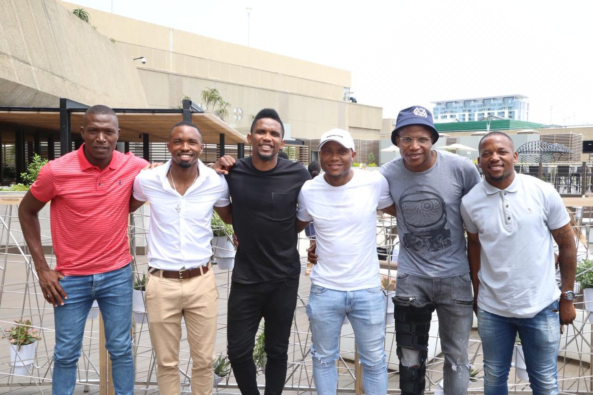 Enjoyed sharing my football experiences & learning more about South African football 🇿🇦. You guys are definitely #SquadGoals ⚽