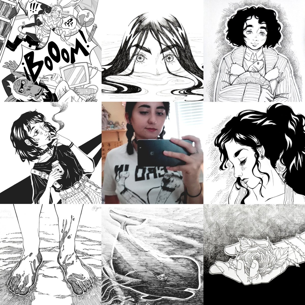 Gris Medina's photo on #artvsartist