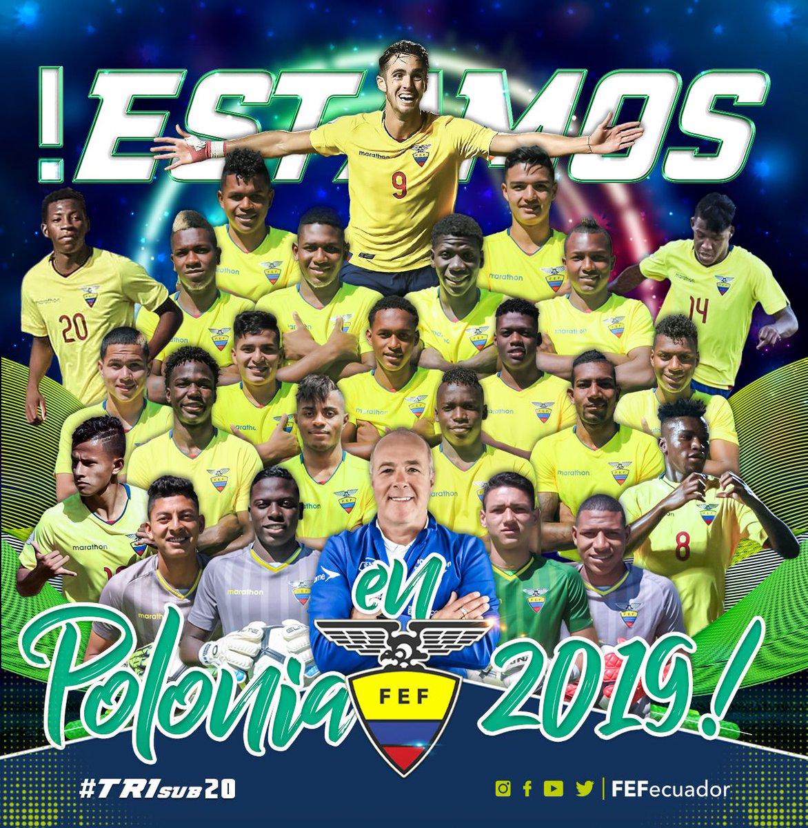 FEF Ecuador's photo on Mundial Sub-20