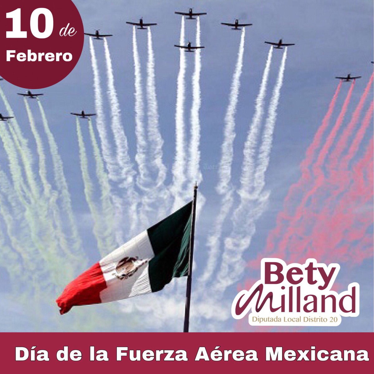 Bety Milland's photo on #FuerzaAéreaMexicana