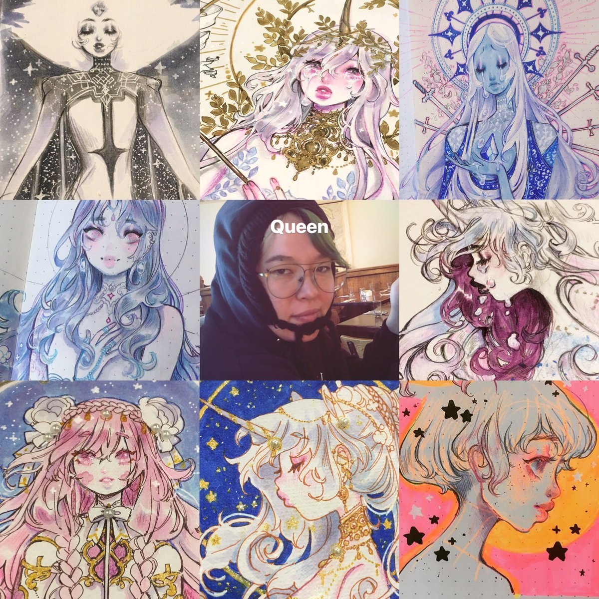 ginger @ rainy town's photo on #artvsartist