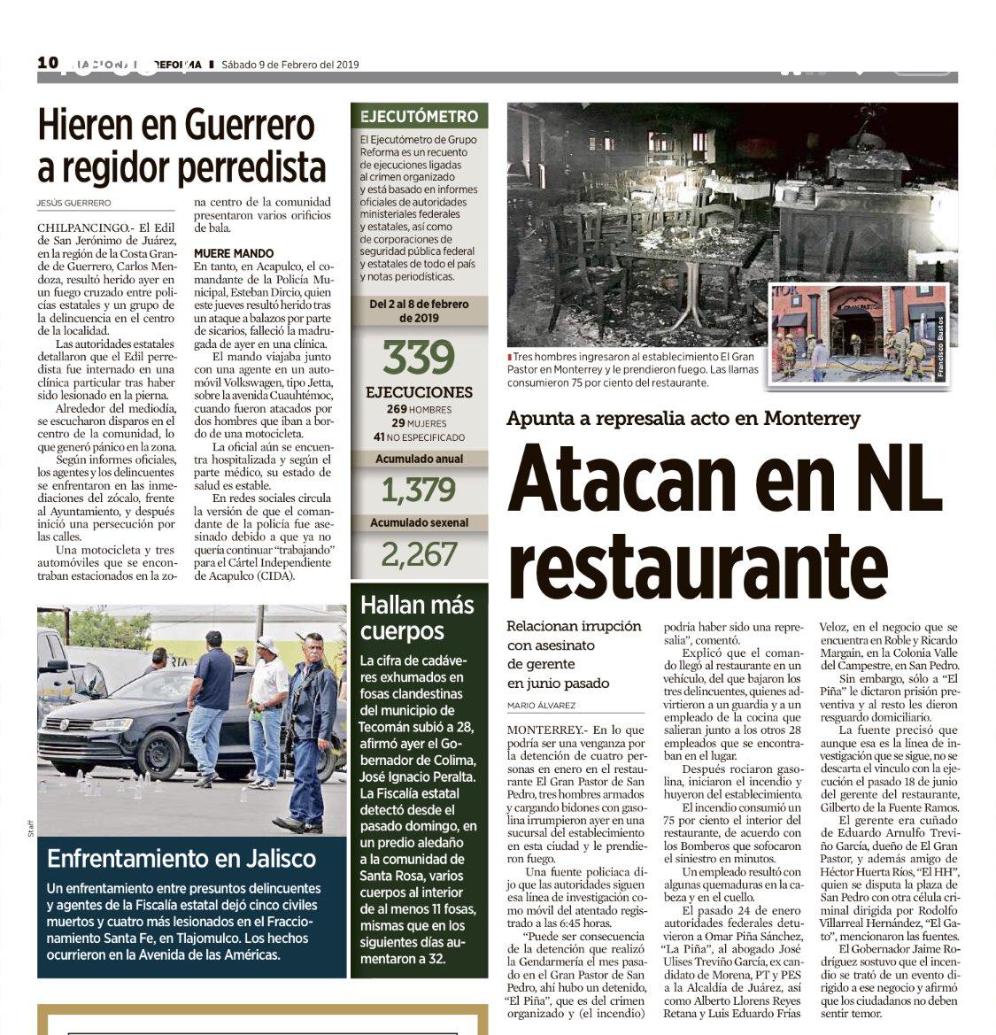 En ese lugar se come delicioso, ¡no puede ser! #AMLO los delincuentes no te están haciendo caso, ni a sus mamás.   @granpastor1 @Monterrey