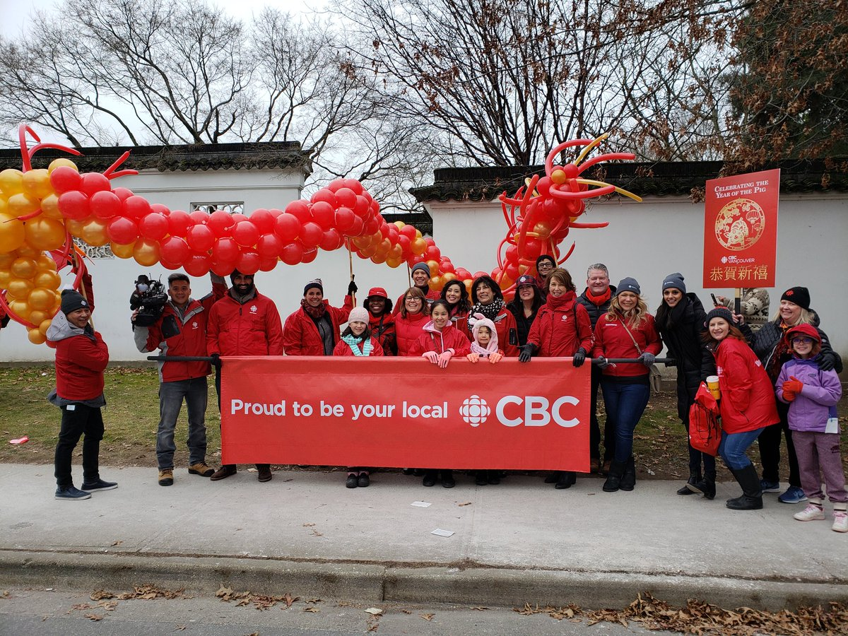 And that's a wrap! Happy #LunarNewYear from all of us at CBC Vancouver! 🎉 #vanspringfestival #YearOfThePig