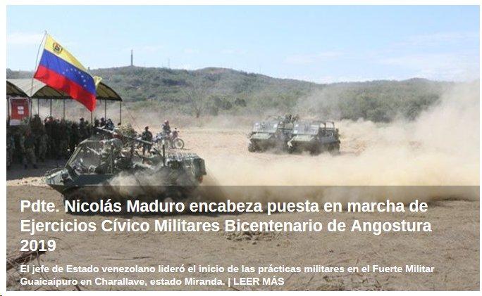 #VenezuelaQuierePaz pero esa no será excusa para dejarse atacar y someter sin luchar por su #SoberaniaYLibertad https://t.co/f4h5q7rQWv
