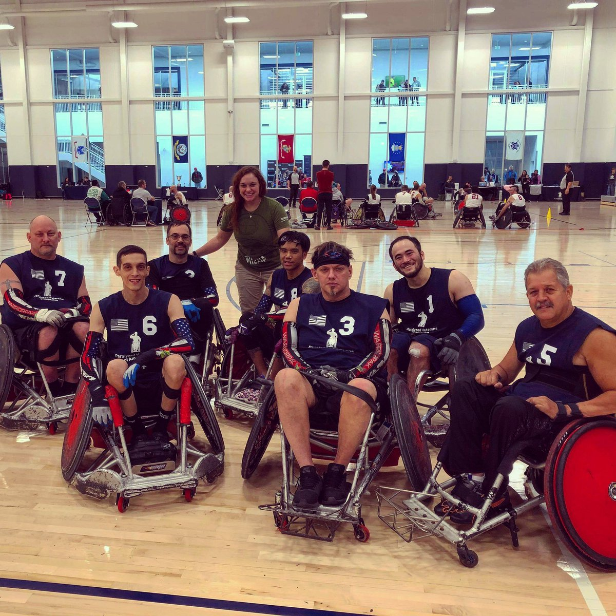 Had a great time at the #PVACodeOfHonor rugby tournament this weekend! Thanks for having me everyone, and I hope lots was learned! @PVA1946