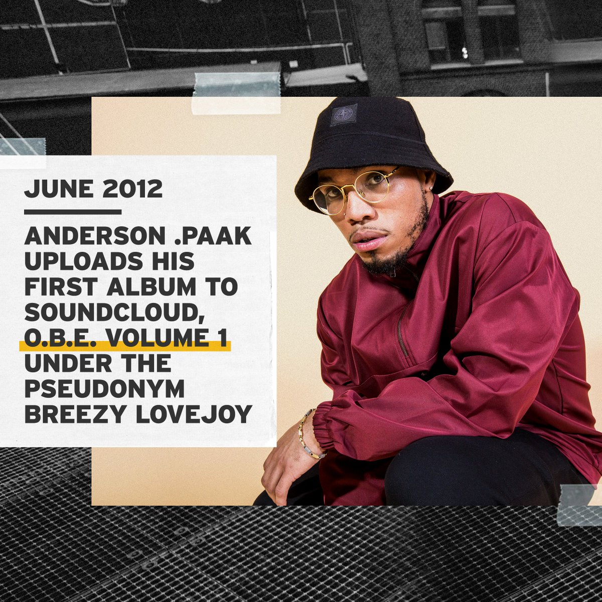 Music's biggest night is here and we are celebrating @AndersonPaak. He got his start on SoundCloud releasing projects under the name Breezy Lovejoy and is now nominated for Best Rap Performance - do you think he'll take home a #GRAMMYs tonight? #SCFIRST http://bit.ly/2UIVdDS
