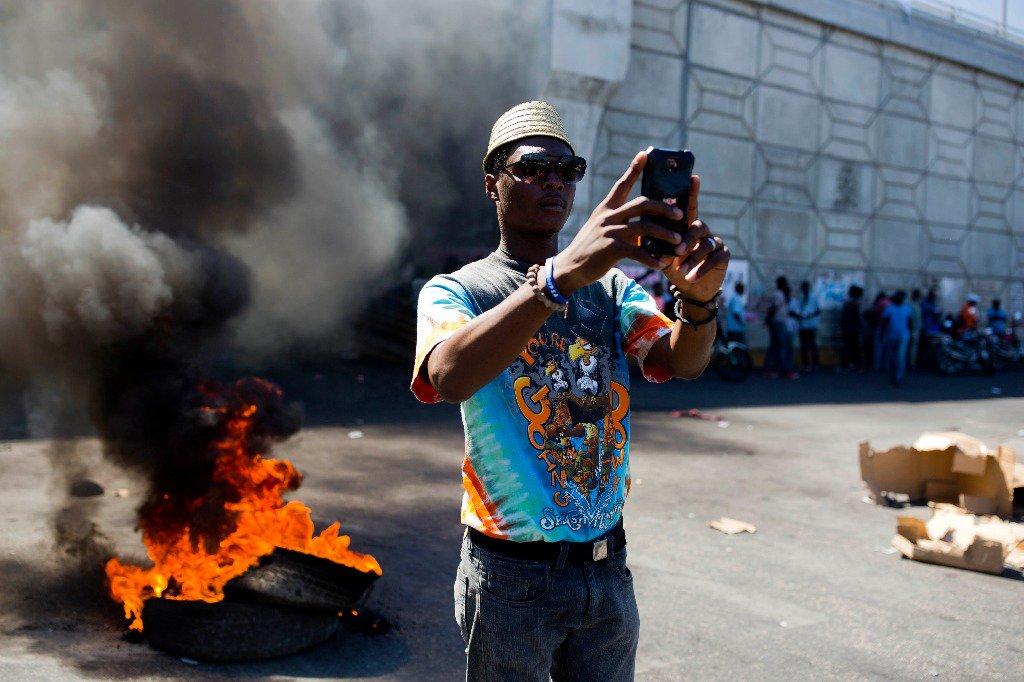La Jornada's photo on #Haití