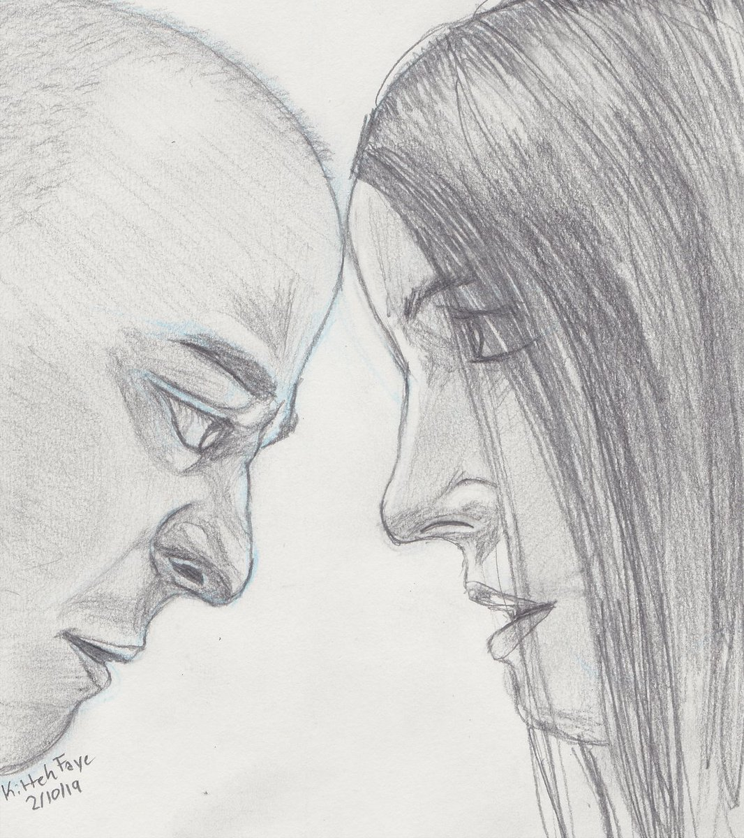 Happy Sunday everyone! Just finished my #art for tonight~ It&#39;s Kevin and Casey from #GlassMovie <br>http://pic.twitter.com/bi0KCY0ZEH