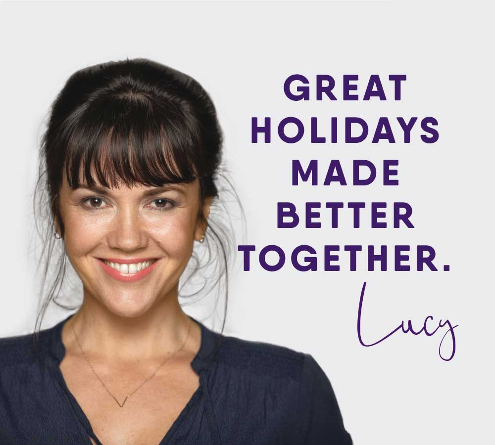 She's back! Lucy returns to front our new mission - to help you create better holidays. How? Well, your ideas + our knowledge = better holidays. Read more here - https://t.co/nHcBfuWn5q #houseoftravel #bettertogether https://t.co/T84xUGuPYR