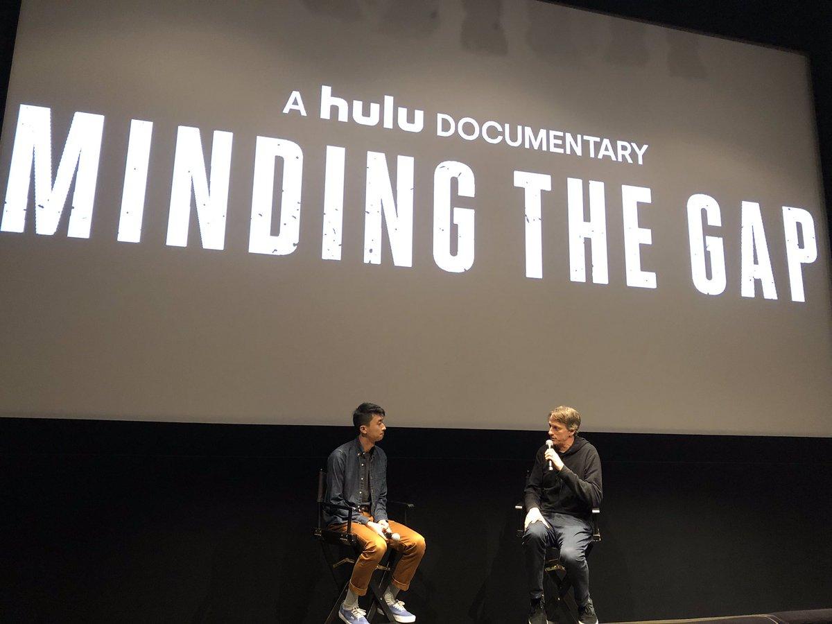 Tonight in LA: @tonyhawk interviews @bingliu89 following a sold out screening.
