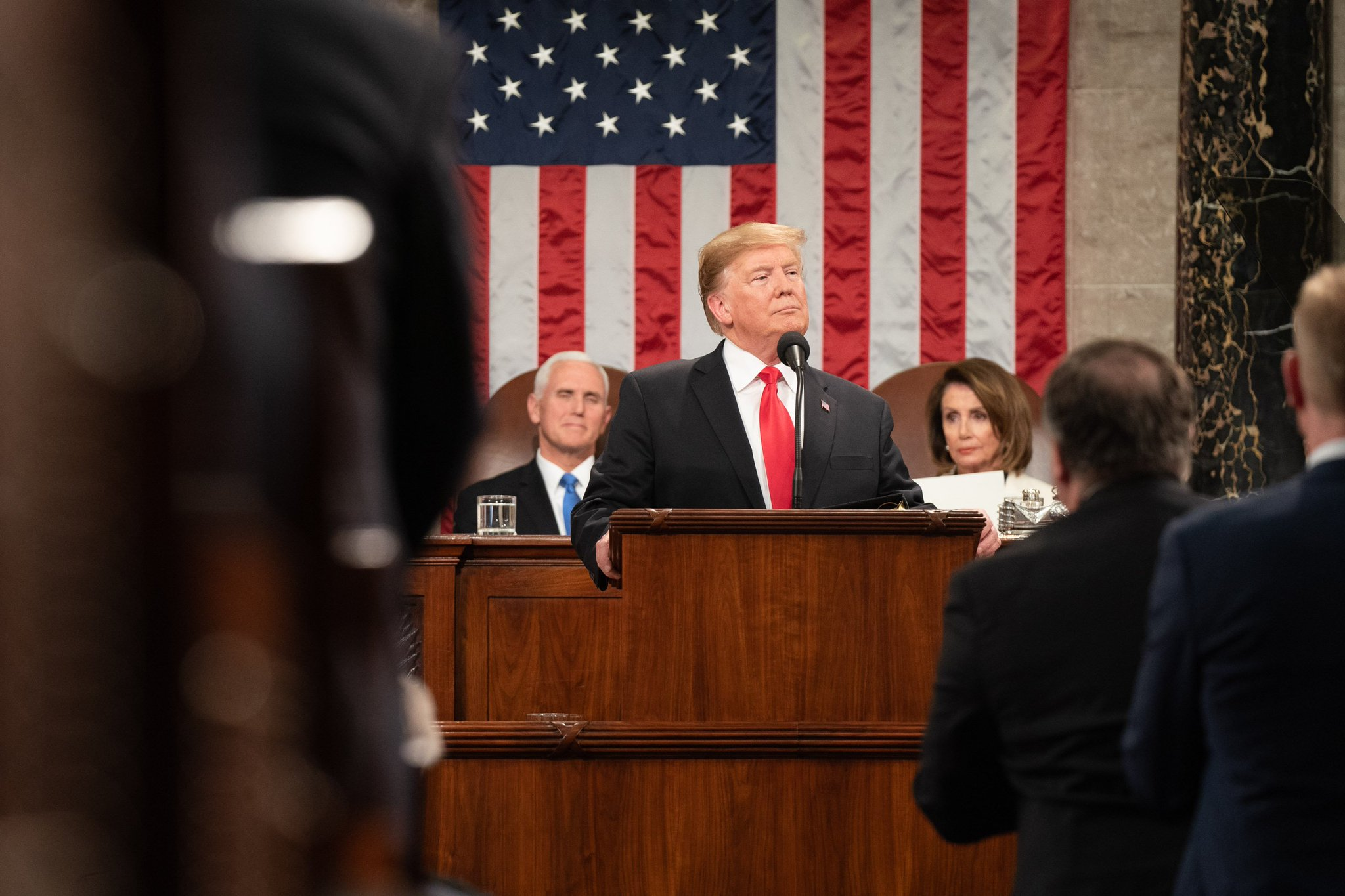 Take a look back at President Trump's second State of the Union Address in photos: https://t.co/P7XwyIjpMZ https://t.co/2jFUeIyIKD