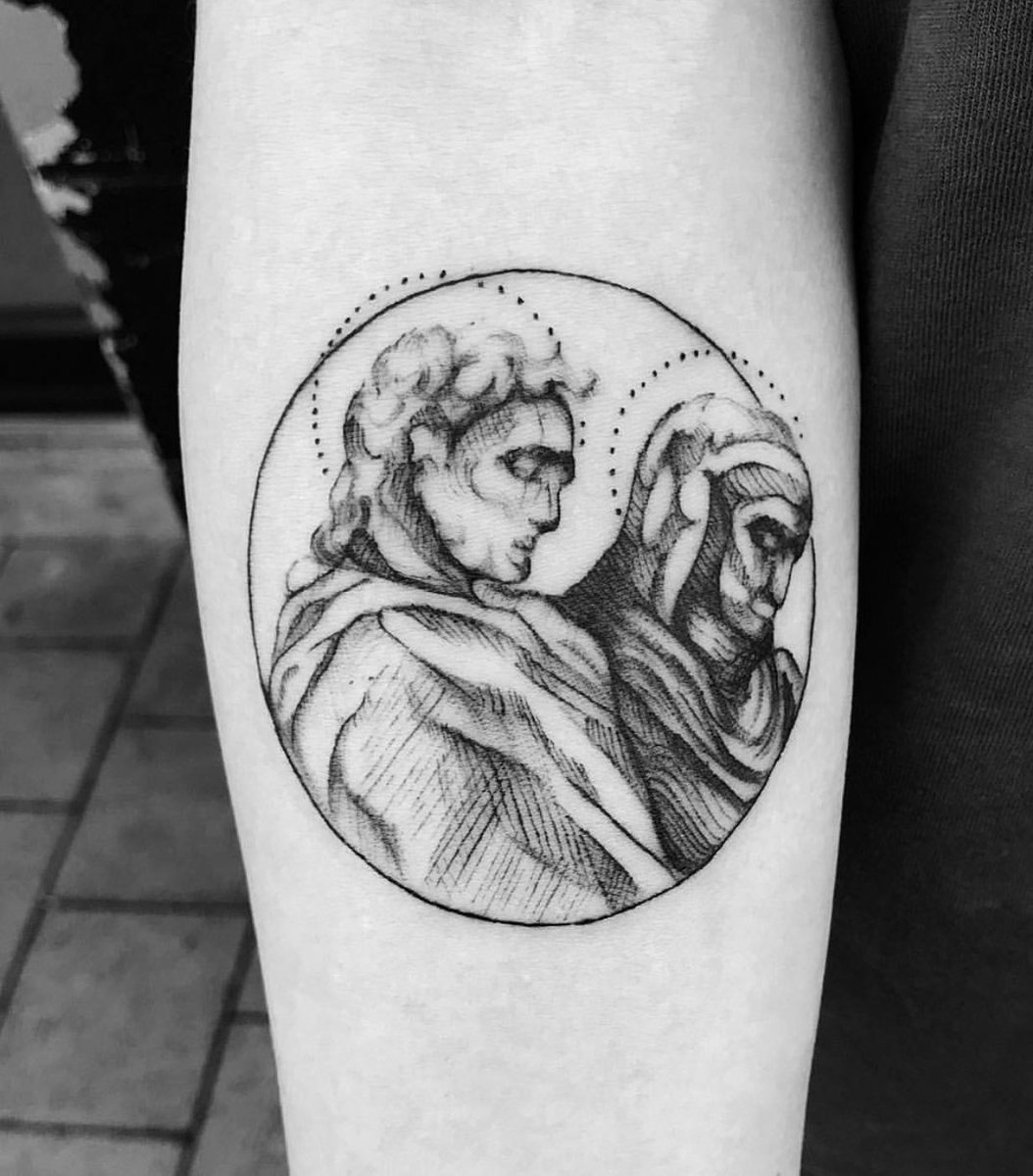 Divine Comedy By Maria Tattoos Tattoosleeve Dc Tattooart