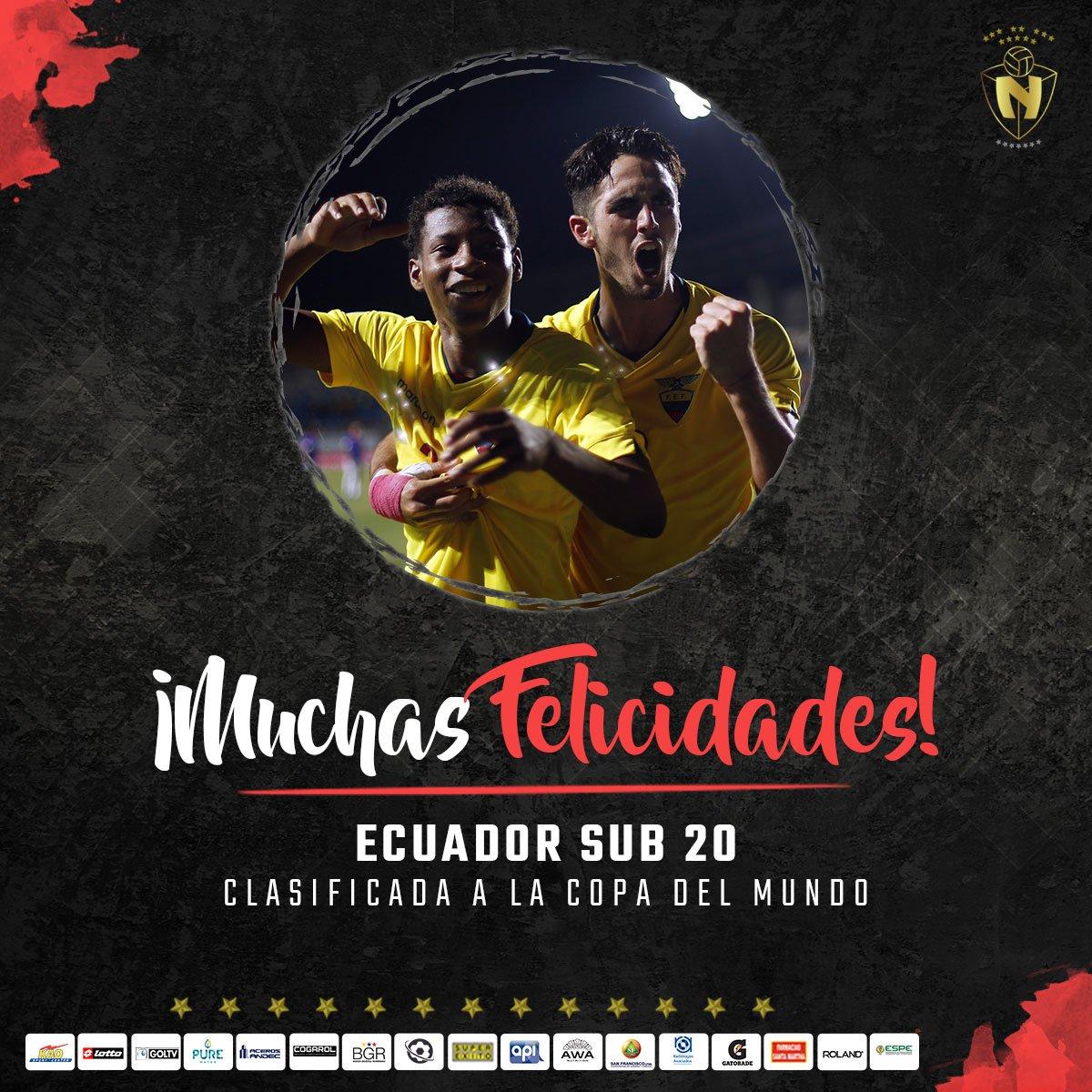 C.D. El Nacional's photo on Mundial Sub-20
