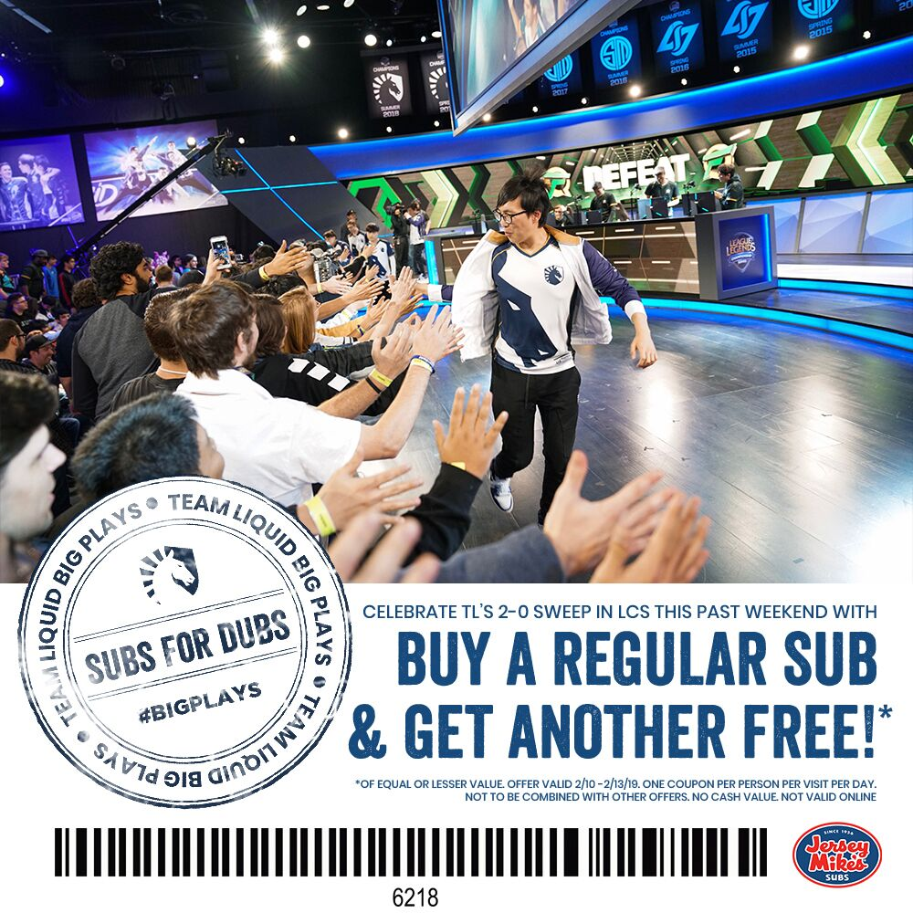 photo regarding Jersey Mikes Printable Coupons titled Workers Liquid upon Twitter: \