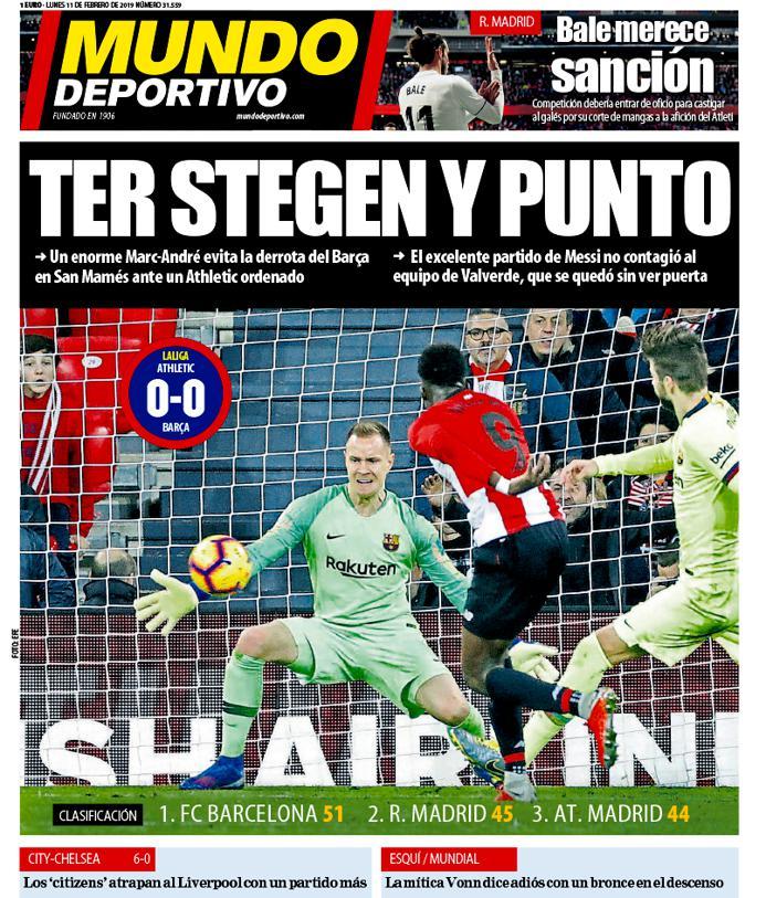 Mundo Deportivo's photo on Lunes 11