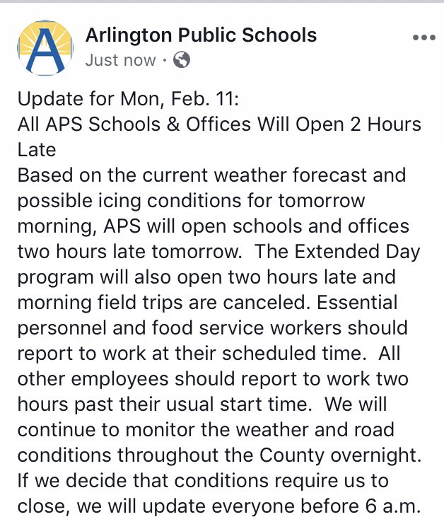 Arlington Public Schools  All Aps Schools  Offices Will Open  Writing Service Level Agreement also Science Vs Religion Essay  Health Care Reform Essay