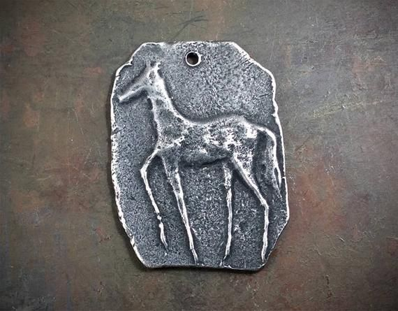 Handcrafted Pewter Horse Pendant - Inviciti Jewelry -  https:// buff.ly/2E5LIcr  &nbsp;   -  #handmade #etsy #etsyjewelry #jewelryonetsy #HandmadeHour #handmadejewelry #handmadejewellery #etsyhandmade #etsymntt #etsychaching #CraftHour #jewelrymaking #craftbuzz #creativehour #handmadecrafts<br>http://pic.twitter.com/zjwflrjZk5