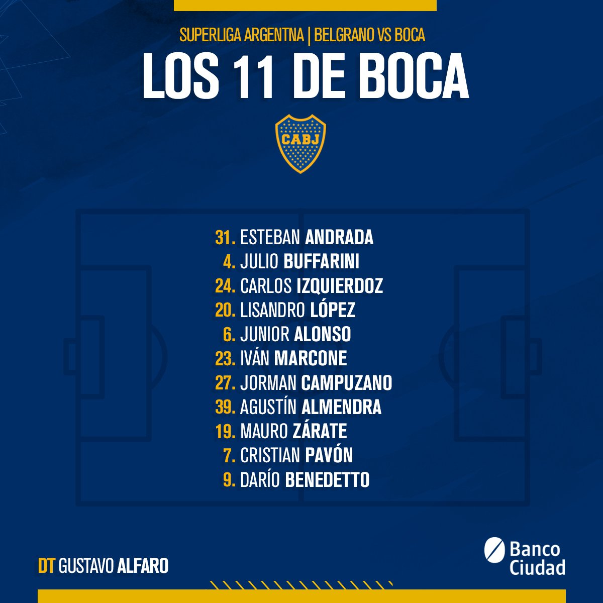 Boca Jrs. Oficial's photo on Andrada