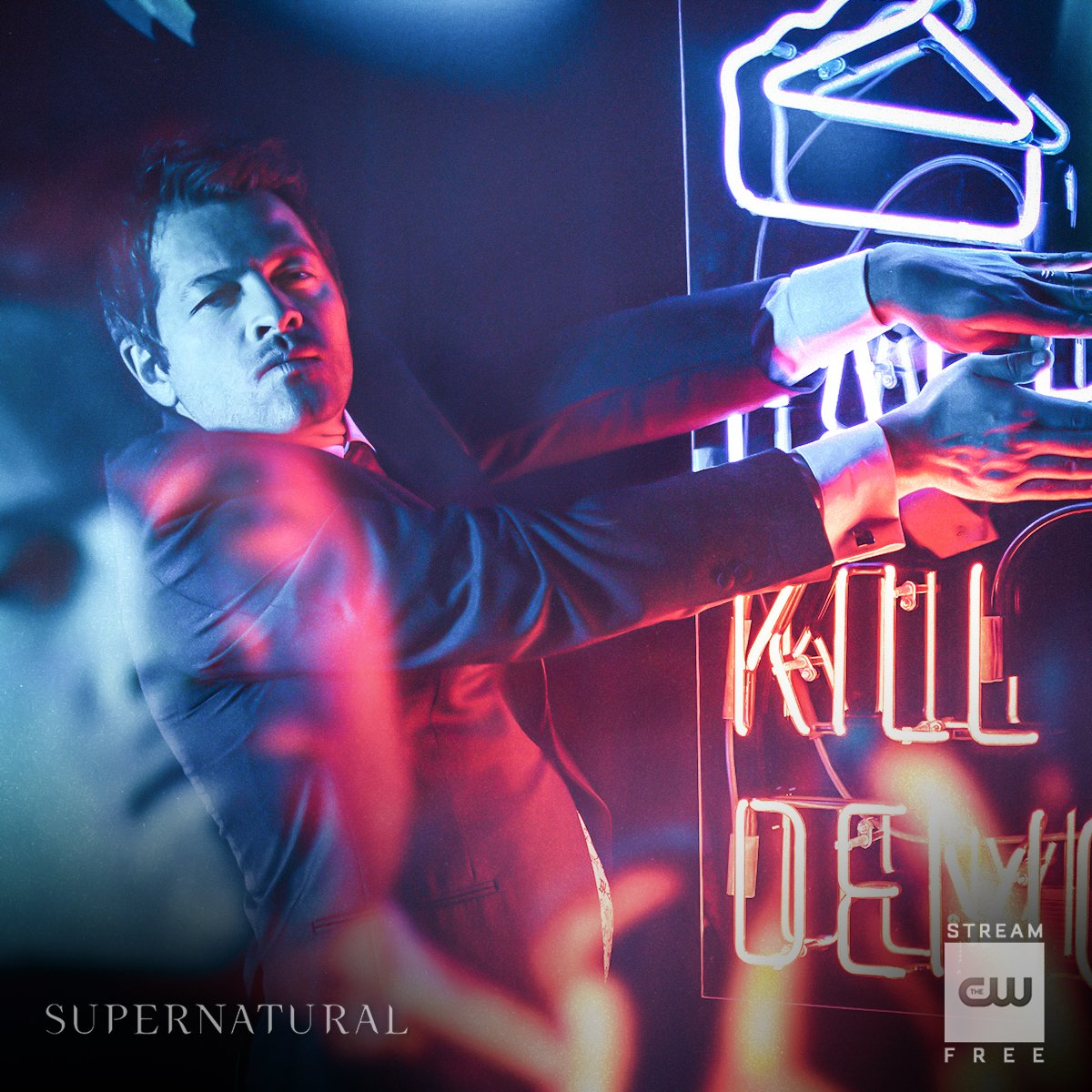 Sent from heaven. Stream the 300th episode of #Supernatural NOW: https://t.co/ZCIZSAIXTe #SPN300 https://t.co/PrieLkWgfO